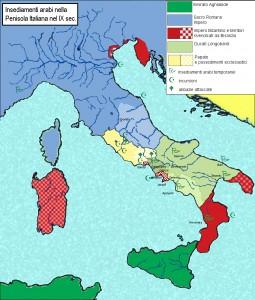 Gli Arabi in Italia nel IX sec. - da www.italiamedievale.org