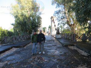 Con Roberto sul Ponte Borbonico